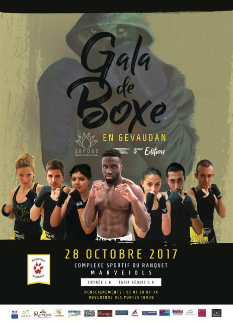 Le gala de boxe du 28 octobre se prépare…