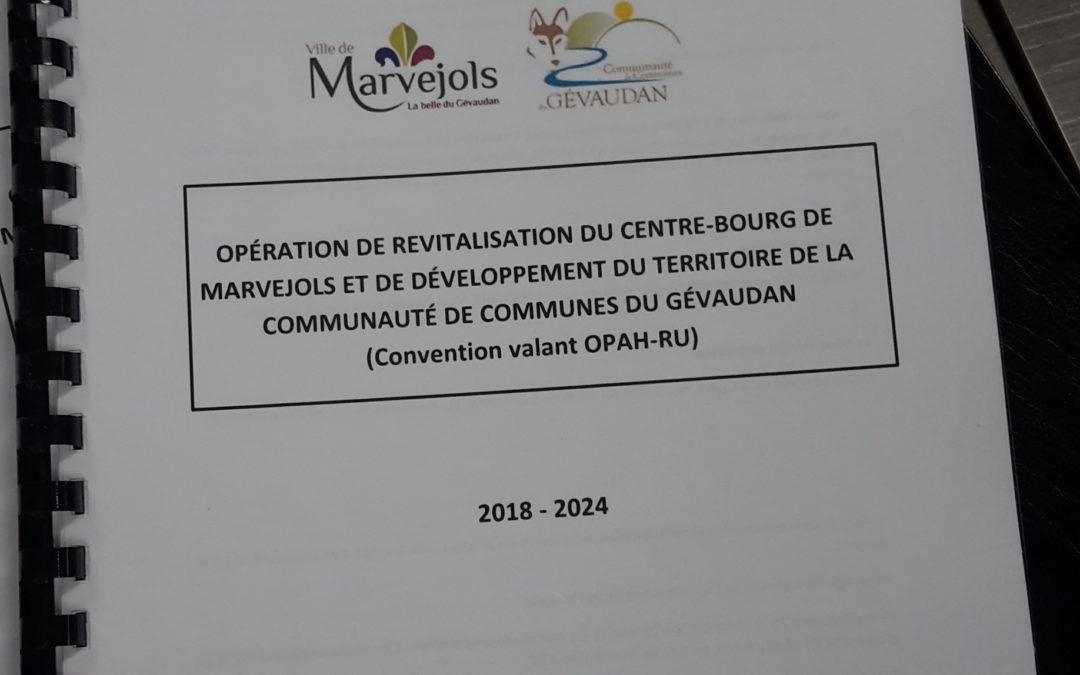 Une convention pour l'amélioration de l'habitat sur le territoire de la communauté de communes du Gévaudan