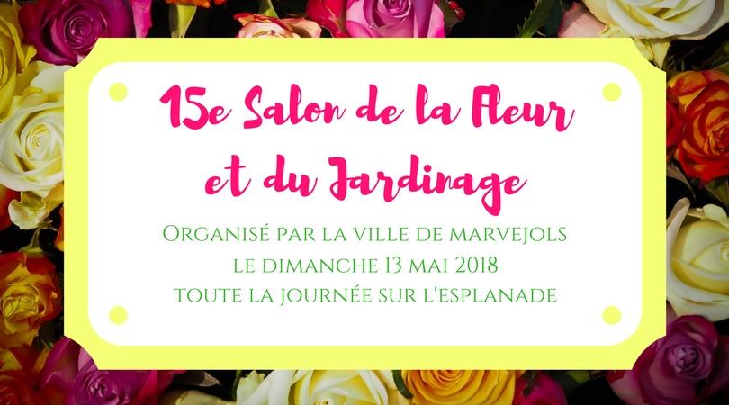 Le 15e salon de la Fleur et du Jardinage aura lieu le 13 mai prochain