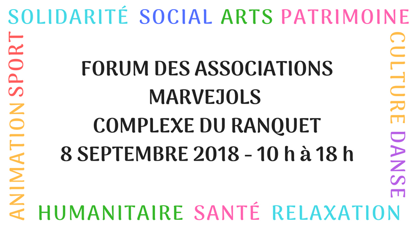 Le forum des associations aura lieu le 8 septembre