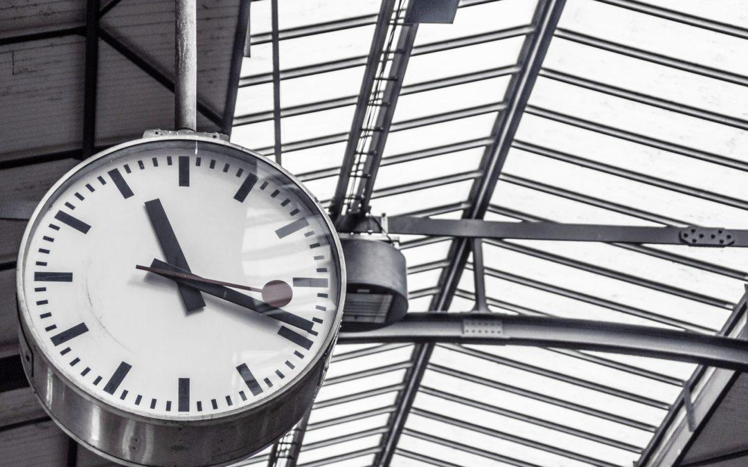Les horaires du guichet de la gare changent