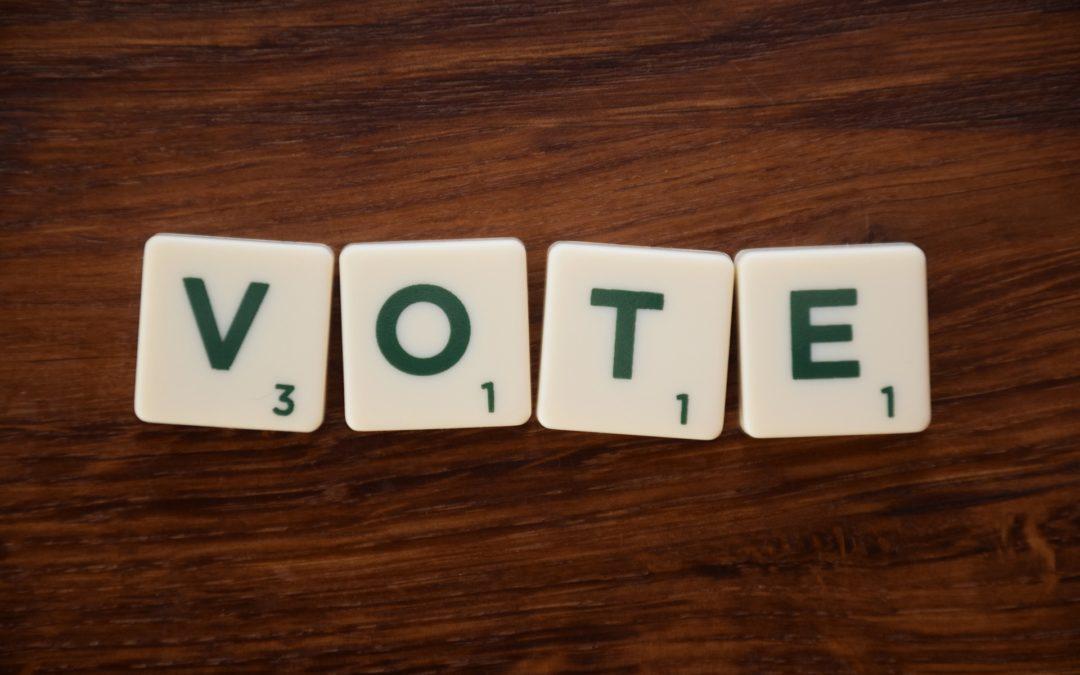 Inscription sur les listes électorales jusqu'au 31 mars
