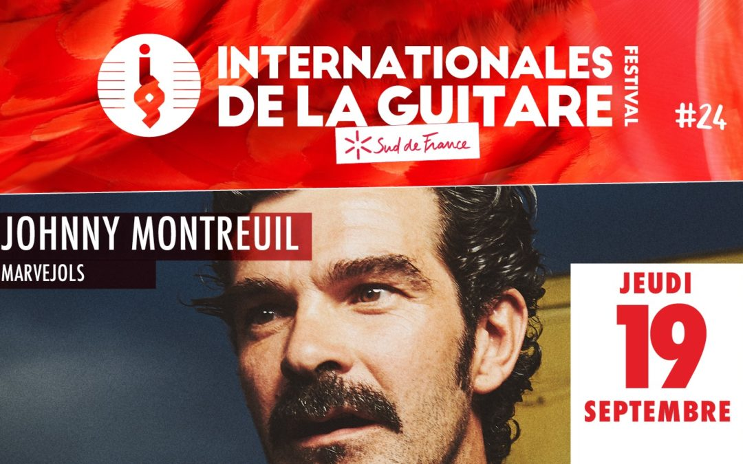 Internationales de la Guitare : Johnny Montreuil chauffe la scène de Marvejols