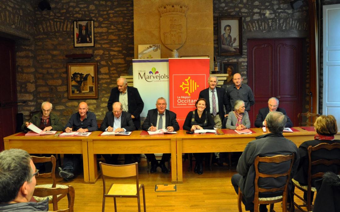 Les contrats «Bourg-Centre» ont été signés avec la Région