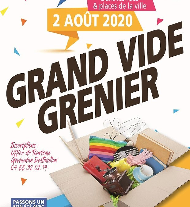 Grand Vide Grenier de Marvejols