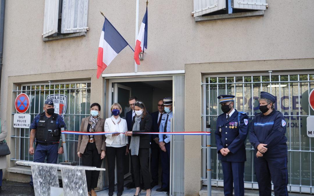 Inauguration du poste de police municipale