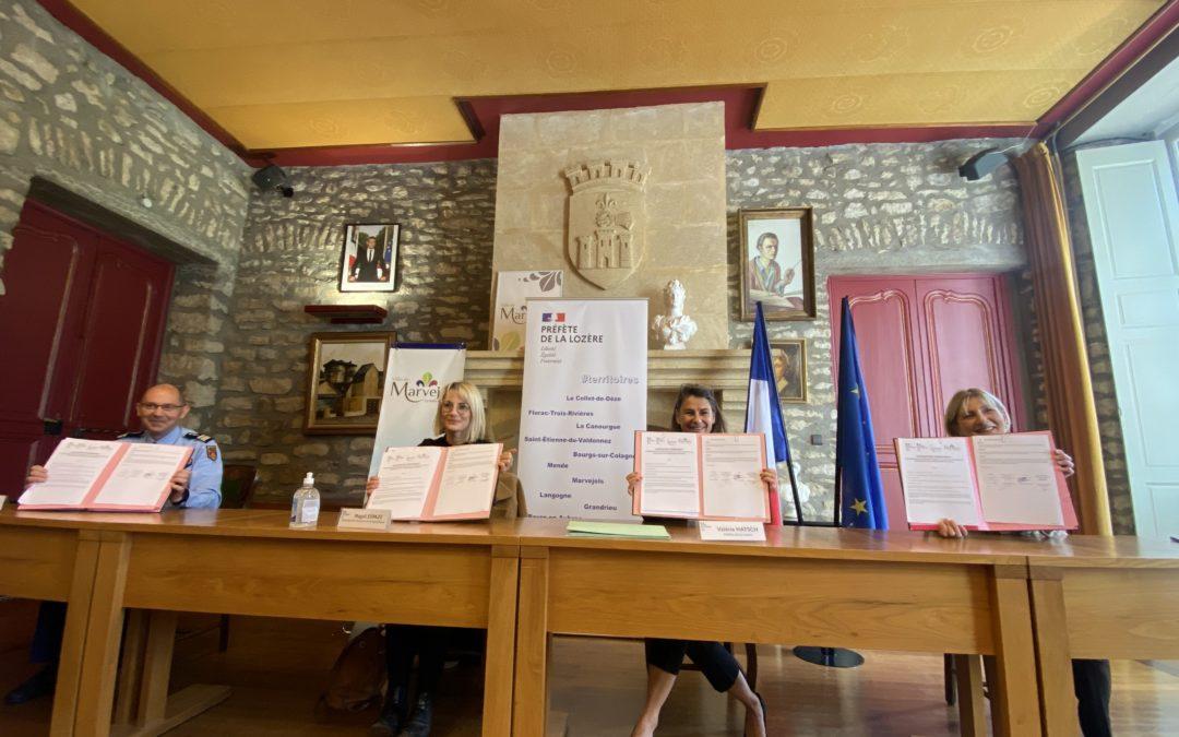 Signature de la convention communale de coordination des forces de sécurité de la police municipale et de la gendarmerie nationale